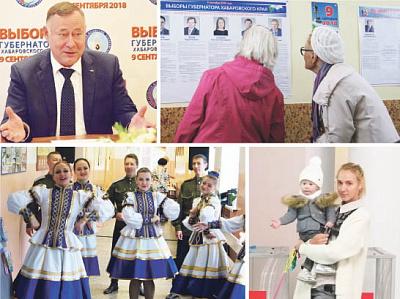 Выборы губернатора Хабаровского края. Лидирует кандидат отЛДПР Сергей Фургал